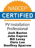 NABCEP Certified Solar Photovoltaic Installers