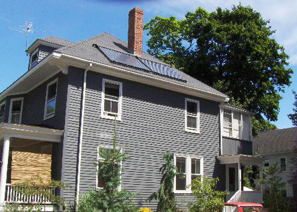 Portland, Maine - Solar Hot Water
