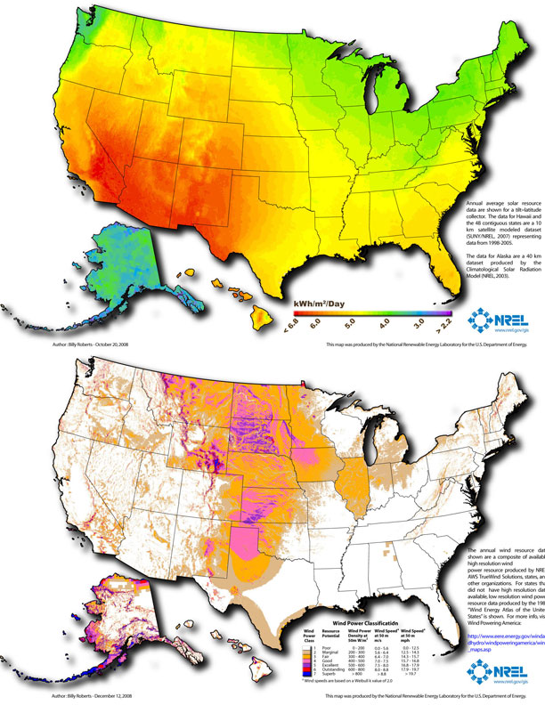 Bangor Daily News Cautions Against Small Scale Wind Energy - Us wind energy map
