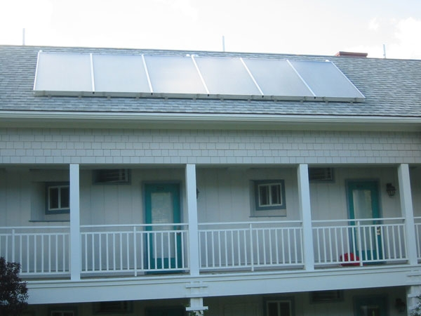 Beachmere Inn - Ogunquit, ME Solar Electricity and Hot Water