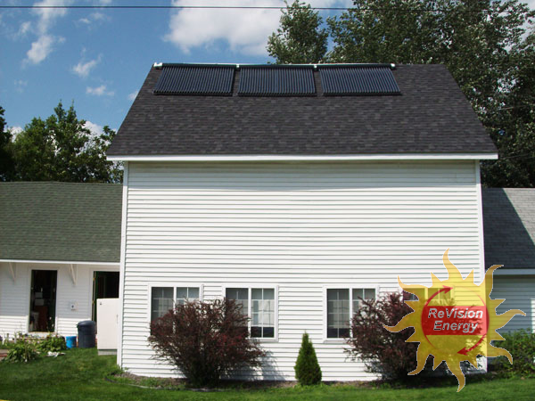 Benton, ME Solar Hot Water