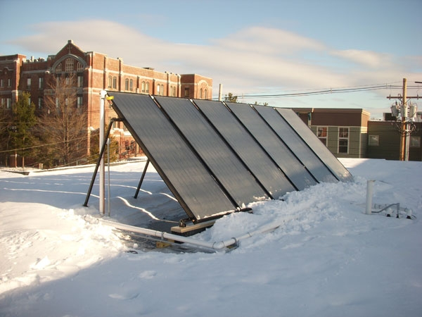 Birch Hill Apartments - Lewiston, ME Solar Hot Water
