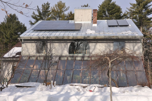 Bowdoinham, ME Solar Electricity and Hot Water