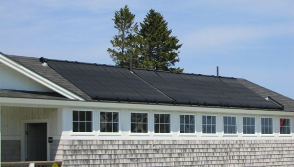 Causeway Club - Southwest Harbor, ME Solar Hot Water