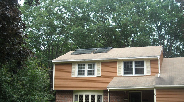 Durham, New Hampshire - Solar Hot Water