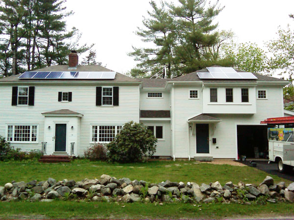 Durham, New Hampshire - Solar Hot Water and Solar Power