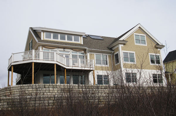 Falmouth, Maine - Solar Hot Water