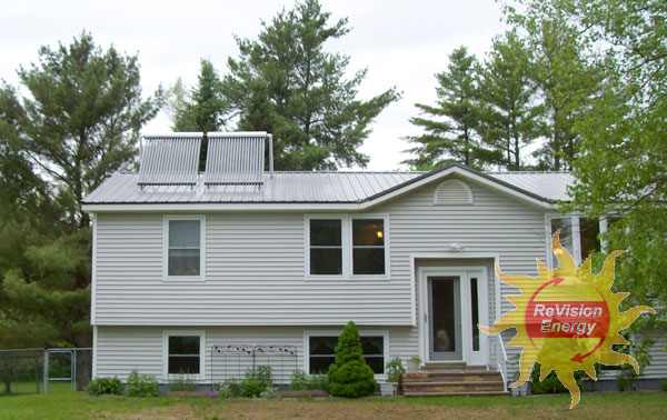 Glenburn, ME Solar Hot Water