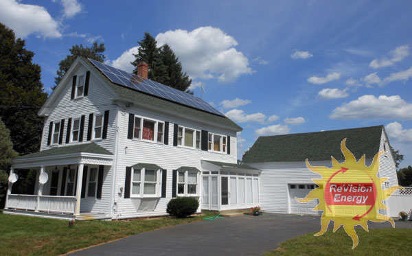 Kingston, NH Solar Electricity and Hot Water