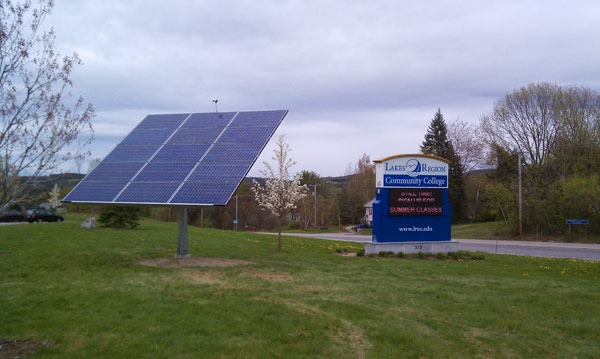 Lake Region Community College Solar Laconia Nh Solar