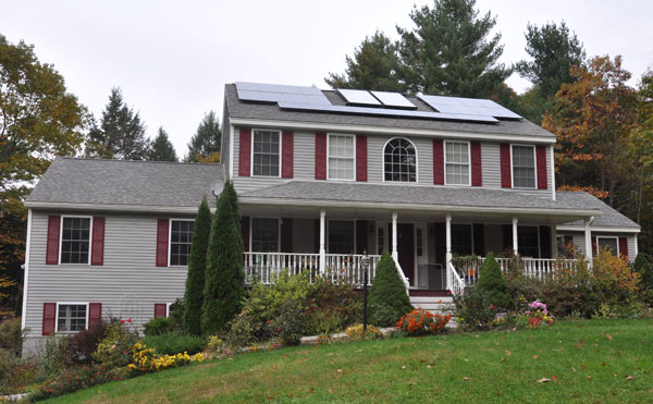 Madbury, New Hampshire - Solar Hot Water and Solar Power