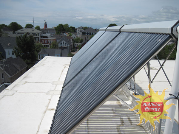 Munjoy Commons - Portland, ME Solar Hot Water