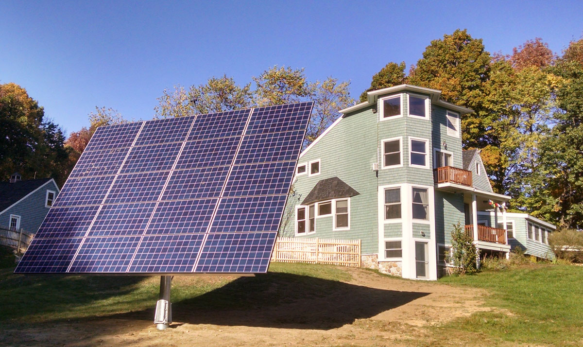 New Gloucester Maine Solar Projects Revision Energy
