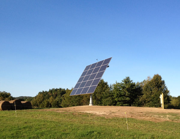 Norway, Maine AllSun Tracker Solar Projects - ReVision Energy
