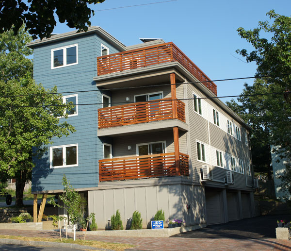 Net Zero Apartment Building In
