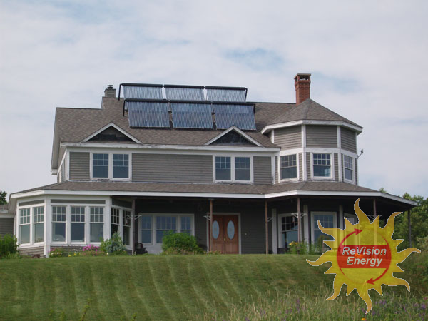 Rockport, ME Solar Hot Water