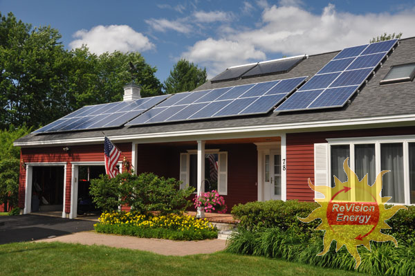 Sanford, ME Solar Electricity and Hot Water