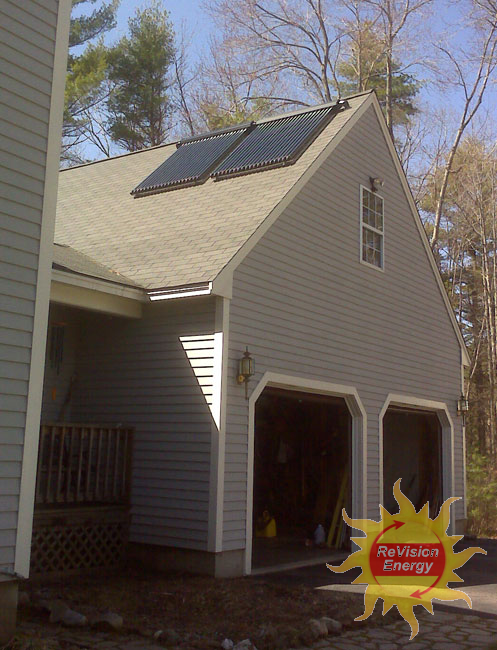South Berwick, Maine - Solar Hot Water
