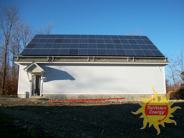 Strong, Maine - Solar PV System