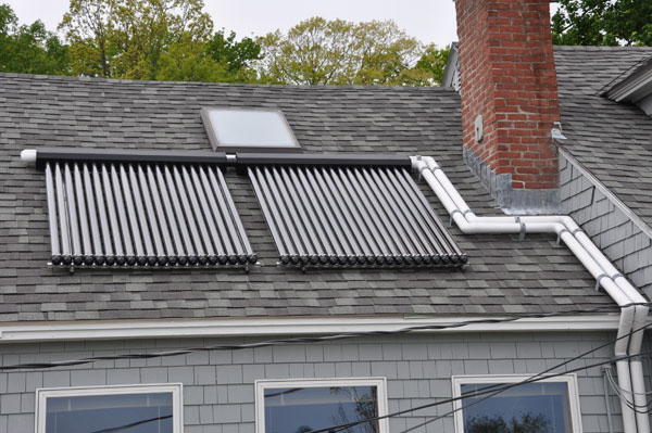 Topsham, Maine - Solar Hot Water