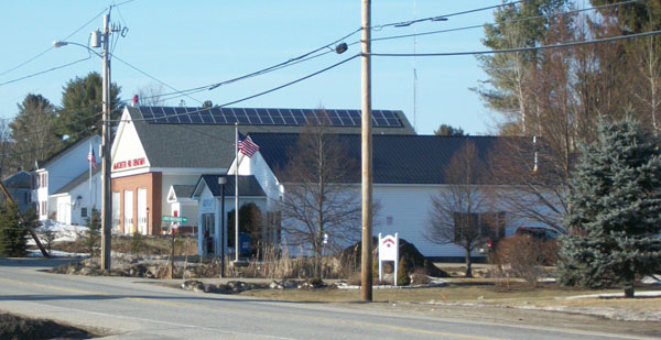 Fire Station Solar for Town of Manchester, Maine