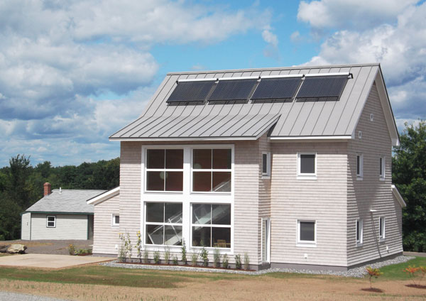 TerraHaus Eco-Friendly Dorms at Unity College