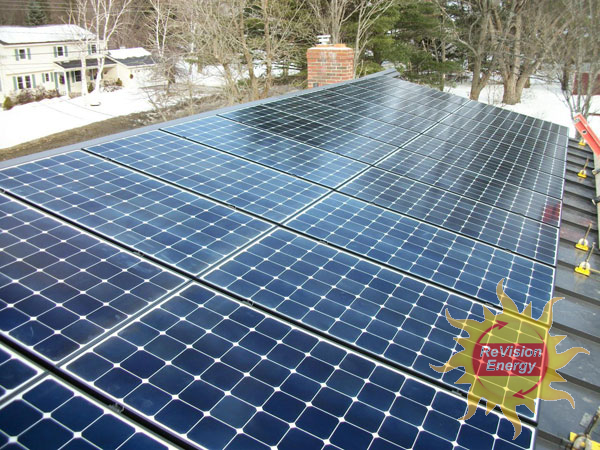 Waterville, ME Solar Electricity and Hot Water