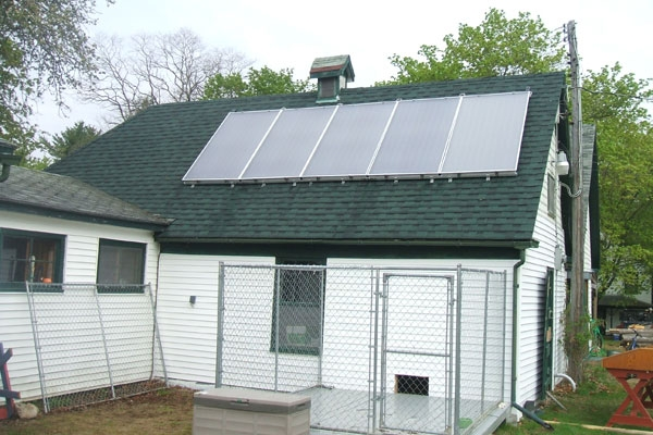 Weatherby's - Grand Lake Stream, ME Solar Hot Water