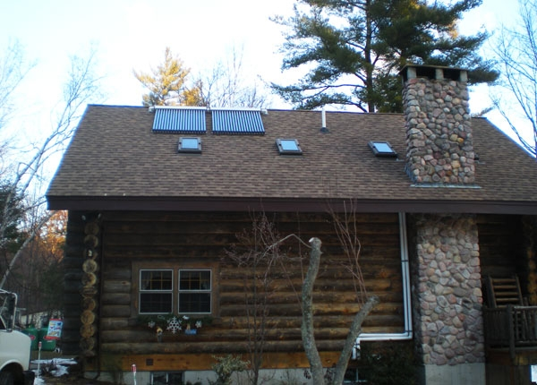 Windham, NH Solar Hot Water