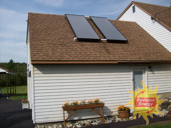 Winslow, ME Solar Hot Water