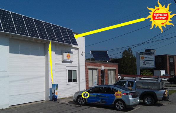 solar powered volt portland maine