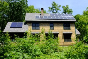 Canterbury, New Hampshire - Solar Hot Water + Solar Electric