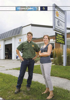 Photo Magazine features ReVision Energy Solar Maine