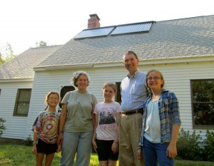 Damariscotta, Maine - Solar Hot Water