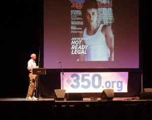 Bill McKibben Do the Math Tour Portland Maine