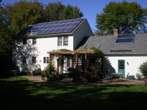Yarmouth, Maine - Solar Hot Water and Solar Power