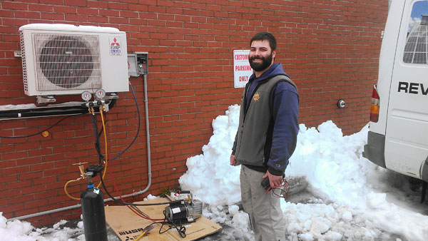 Air Source Heat Pump Installation - Portland, ME