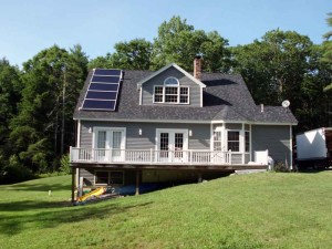 Woolwich, ME - Solar Hot Water