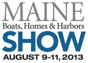 Maine Boats, Homes & Harbors Show Logo