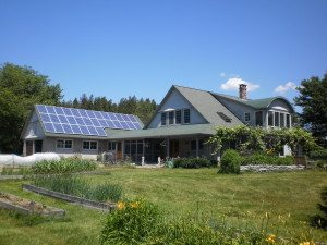 Solar PV on a home