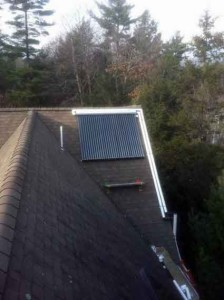 Yarmouth, Maine - Solar Hot Water