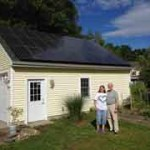 Whitley's with the solar electric system