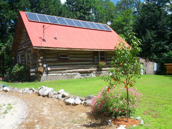Naples Maine Solar Installation
