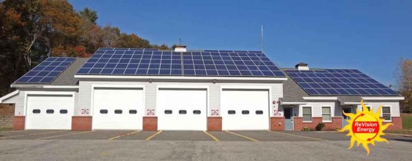 Solar for Windham Maine Fire Department