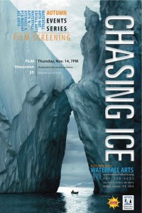 Chasing Ice Screening Poster