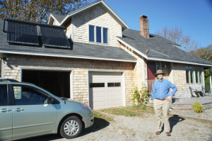 Castine, Maine - Solar Hot Water