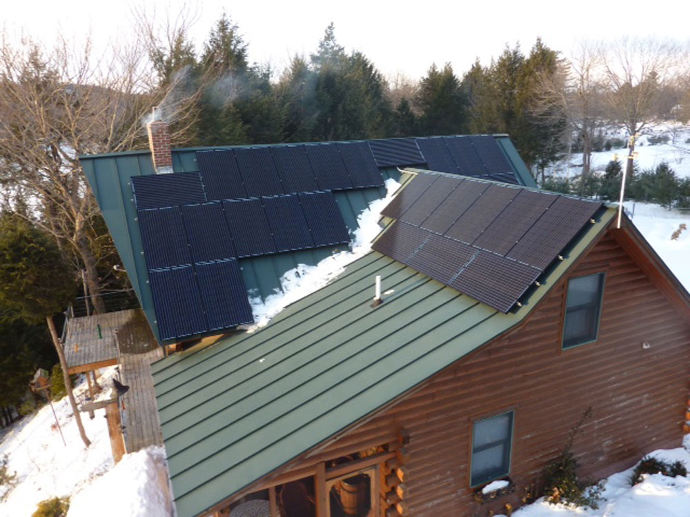 Combining Solar and Wind Power for Grid Independence in Maine