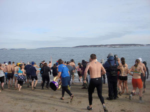 Polar Bear Dip and Dash 2013