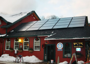 Solar for Woodstock Inn Station and Restaurant - North Woodstock NH