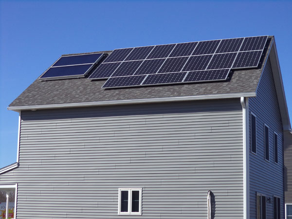 Solar home in Dover New Hampshire